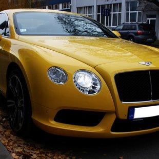 Bentley Continental apstrāde ar cQuartz FINEST